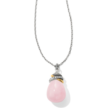 Neptune's Rings Quartz Necklace