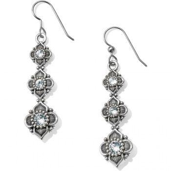 Alcazar Trio French Wire Earrings