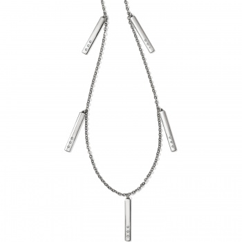London Groove Bar Reversible Long Necklace