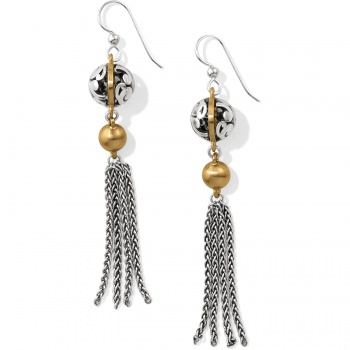 Elora Luxe Tassel French Wire Earrings