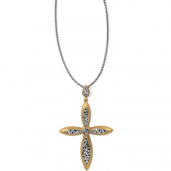 Elora Luxe Convertible Cross Necklace