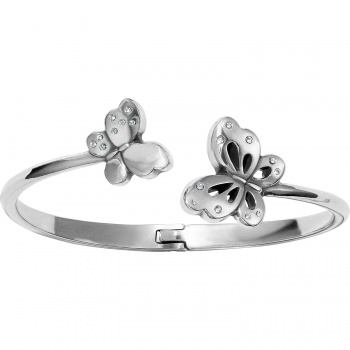 Butterfly Kiss Hinged Bangle