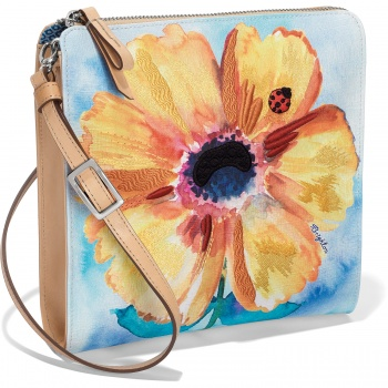 Belle Jardin Bloom Embroidered Pouch