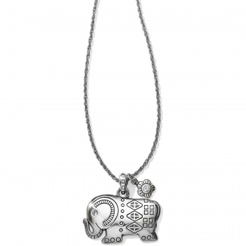 Ellie Elephant Long Necklace