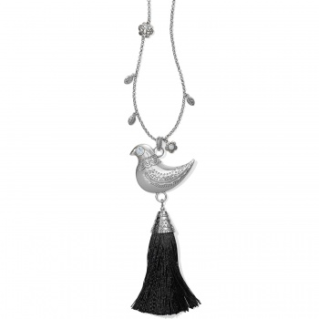 Mod Menagerie Betty Bird Tassel Necklace