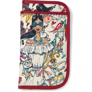 Fashionista Seville Double Eyeglass Case