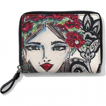 Fashionista Rosas Medium Wallet