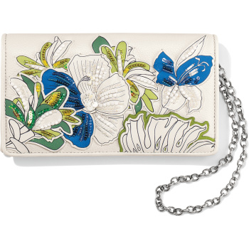 Crystal Pond Clutch Wallet