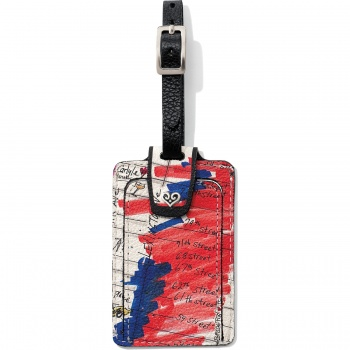 About Town Luggage Tag