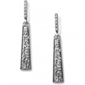 Deco Deco Luxe Sleek Post Drop Earrings