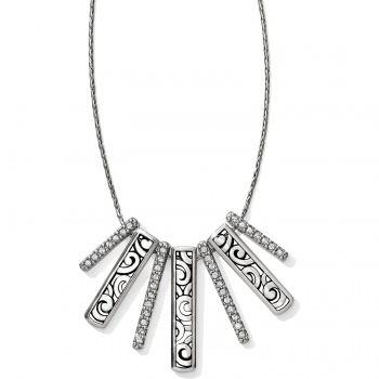 Deco Luxe Fan Necklace