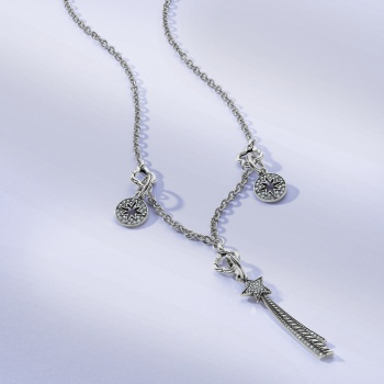 My Thoughts Are Stars Amulet Necklace
