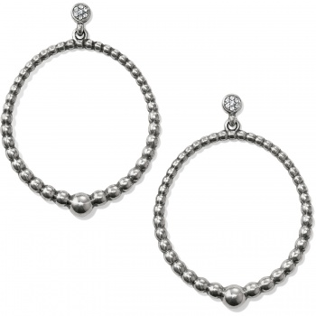 Meridian Petite Post Hoop Earrings