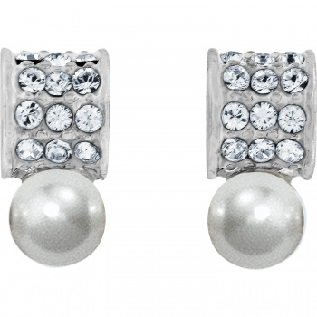 Meridian Petite Pearl Post Earrings