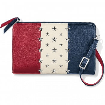 Americana Star Studded Pouch