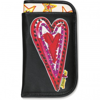 Fashionista Scribble Double Eyeglass Case