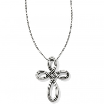 Interlok Interlok Petite Cross Necklace