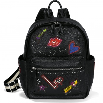 Fashionista Love Scribble Backpack