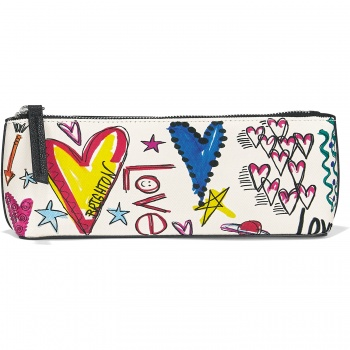 With Love Small Cosmetic Pouch