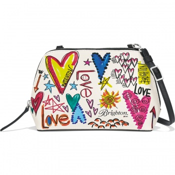With Love Convertible Cosmetic Pouch