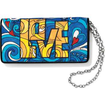 Fashionista Love Groove Slim Wallet