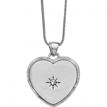 Bright Morning Star Locket Necklace