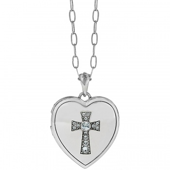 Call To Love Heart Locket Necklace