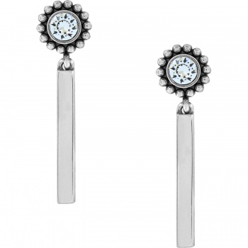 Twinkle Bar Post Drop Earrings
