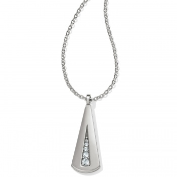 Contempo Ice Reversible Trinity Necklace