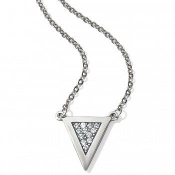 Contempo Ice Reversible Petite Triangle Necklace