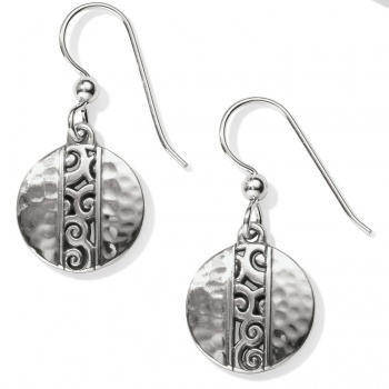 Mingle Disc French Wire Earrings