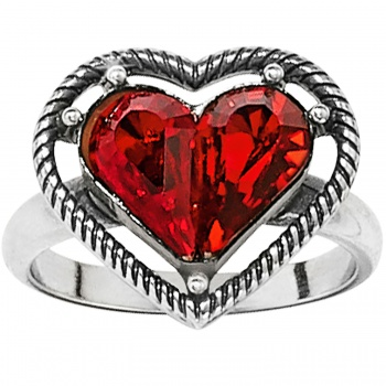 One Love One Love Petite Heart Ring