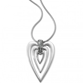 Meridian Swing Hearts Necklace