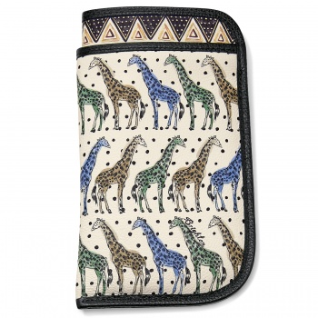 AFRICA STORIES BY BRIGHTON Africa Stories Double Eyeglass Case