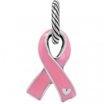 Power Of Pink Pink Ribbon Charm