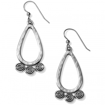 Africa Stories Spiral French Wire Earrings