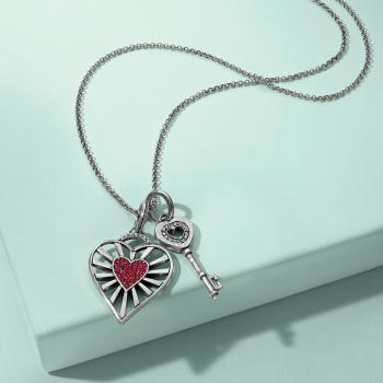My Heart Unlocked Necklace Gift Set