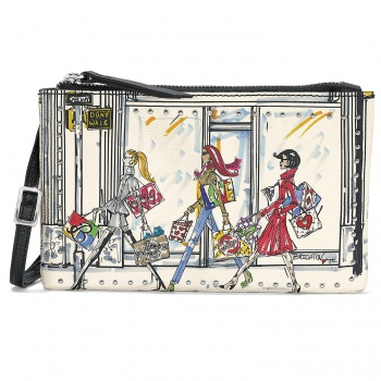 Fashionista Downtown Girls Cross Body Pouch