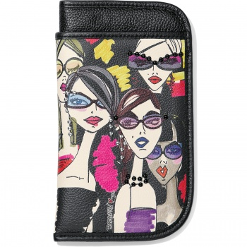 Fashionista Downtown Girls Double Eyeglass Case