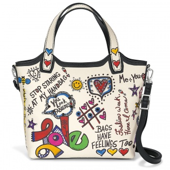 Love Scribble Small Tote