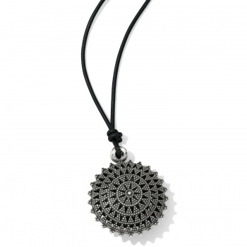 Ferrara Eternity Leather Necklace
