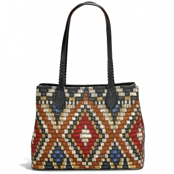 AFRICA STORIES BY BRIGHTON Safara Soft Tote