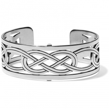 Christo Interlok Narrow Cuff Bracelet