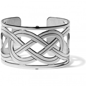 Christo Interlok Wide Cuff Bracelet