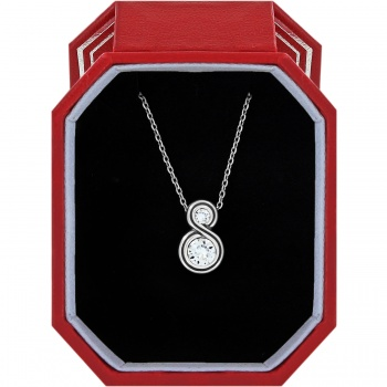 Infinity Sparkle Petite Necklace Gift Box