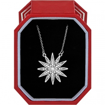 Contempo Contempo Starburst Short Necklace Gift Box