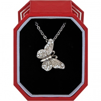 Solstice Butterfly Necklace Gift Box