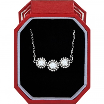 Twinkle Triple Stone Necklace Gift Box