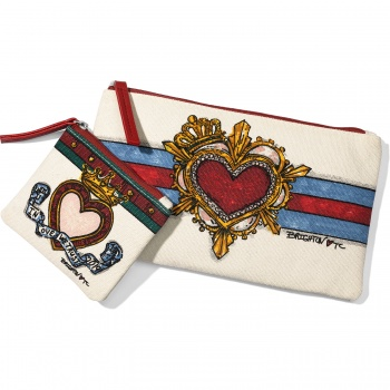 In Love We Trust Pouch Set