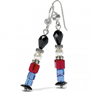 Tinsel Town Nutcracker French Wire Earrings